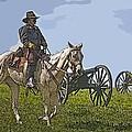 Civil War Officer by Michael Burke