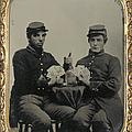Civil War Soldiers C1863 by Granger