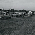 Civilian Traffic On Rhodesian Highways In Convoy by Retro Images Archive