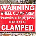 Clamping Sign by Tom Gowanlock