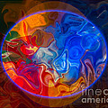 Clarity In The Midst Of Confusion Abstract Healing Art by Omaste Witkowski