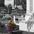 Clark House Flowers 2 by Rick Selin