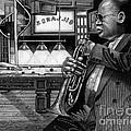 Jazz Clark Terry by JL Vaden