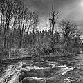 Clarksburg Falls 1833 by Guy Whiteley