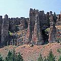 M-a5706-clarno Palisades by Ed  Cooper Photography