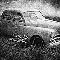 Clasic Car - Pen And Ink Effect by Brian Wallace
