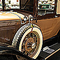 Classic 1928 Ford Model A Sport Coupe Convertible Automobile Car by Jerry Cowart