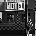 Classic 50s Motel Cafe by David Lee Thompson