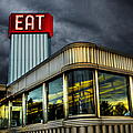 Classic American Diner by Diane Diederich