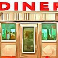 Classic Americana Diner Pop by Edward Fielding