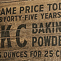 Classic Baking Powder by Andy Crawford