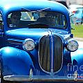 Classic Blue by Optical Playground By MP Ray