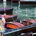 Classic Boats In Lake Tahoe by Steve Natale