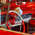 Classic Cadillac Beauty In Red by Bob Christopher