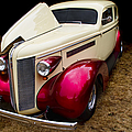 Classic Car - 1937 Buick Century by Peggy Collins