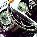 Classic Car Odometer by Rebecca Malo