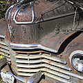 Classic Car With Rust by Cathy Anderson
