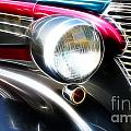 Classic Cars Beauty By Design 1 by Bob Christopher
