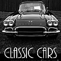 Classic Cars Front Cover by Edward Fielding