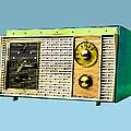 Classic Clock Radio by Dominic Piperata