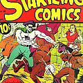 Classic Comic Book Cover - Startling Comics The Fighting Yank - 1236 by Wingsdomain Art and Photography