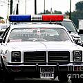 Classic Cop Car by Optical Playground By MP Ray