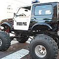 Classic Custom Jeep by Robert Floyd