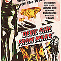 Classic Devil Girl From Mars Poster by R Muirhead Art