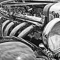 Classic Engine - Classic Cars At The Concours D Elegance. by Jamie Pham