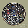 Classic Engine Orb Abstract by Darleen Stry