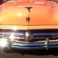 Classic Ford Car Hood Peach by Susan Garren