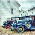 Classic Ford Model A Cars by Edward Fielding