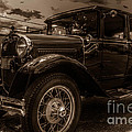 Classic Ford - Sepia by Keith Russell