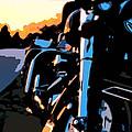 Classic Harley by Michael Pickett