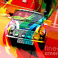 Classic Mini Cooper by Marvin Blaine