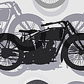 Classic Motorcycle  by Daniel Hagerman