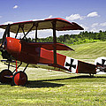 Classic Red Barron Fokker Dr.1 Triplane Photo by Keith Webber Jr