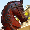 Classic Red Horsehead Post by Alys Caviness-Gober