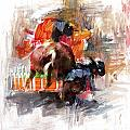 Classic Rodeo 2b by Maryam Mughal