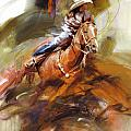 Classic Rodeo 6 by Maryam Mughal