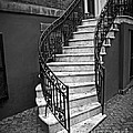 Classic Staircase by Perry Webster
