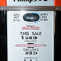 Classic Vintage Gilbarco Phillips 66 Gas Pump Dsc02751 by Wingsdomain Art and Photography