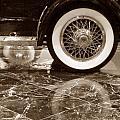 Classic Wheels Sepia by Cheryl Del Toro