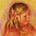 Claude Renoir by Pierre Auguste Renoir