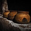 Clay Pots  ... by Chuck Caramella