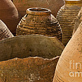 Clay Pots   #7811 by J L Woody Wooden