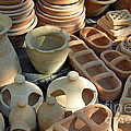 Clay Pots And Other Containers by Tina M Wenger