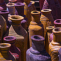 Clay Vases by Garry Gay