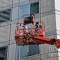 Cleaning Skyscraper Window And Wall With Snorkel Singapore by Imran Ahmed