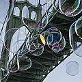 Cleaning The Bridge With Bubbles by Jean Noren